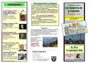 Dépliant LES RENCONTRES 1-1